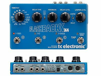 Tc Electronic Flashback Delay X4 Effetto Delay Digit.looper Midi Usb Toneprint