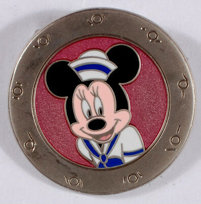 0107X 2010 Disney Pin - Disney Cruise Line featuring Minnie Mouse