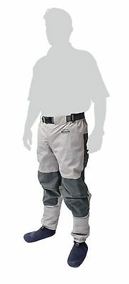 Leeda Volare Waist Wader Breathable Stocking Foot M/L/XL/XXL Fishing RRP £70