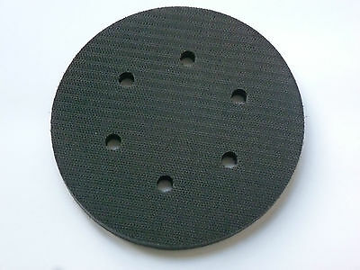 "6"" Interface Pad 150 mm 6 Hole Hook and Loop Foam"