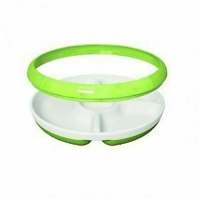 OXTDPG 6113700 OXO Tot Divided Plate (Green)