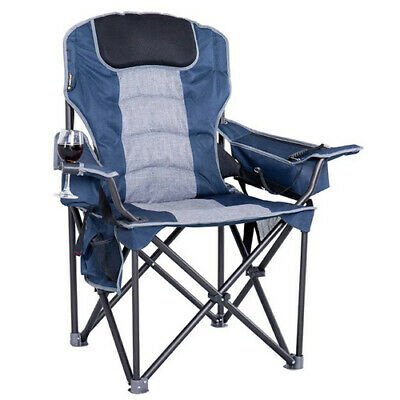 OZTRAIL GOLIATH (250kg LIMIT) Folding Portable Camping Picnic Arm Chair