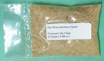 3 packages (0.88 oz.) Premium granular Oak wine making