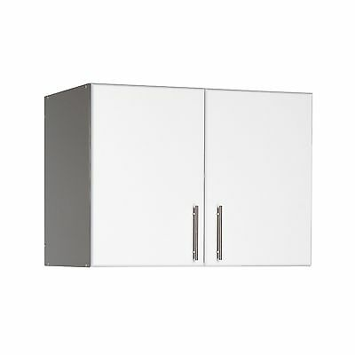Prepac WEW-3224 Elite Collection 32-Inch Topper and Wall Cabinet with 2 doors