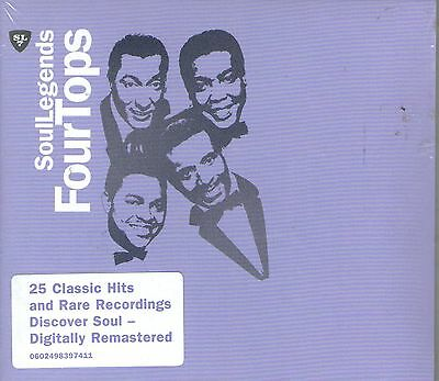 THE FOUR TOPS-Soul Legends CD--BRAND NEW-Still sealed
