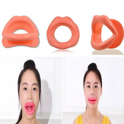 Face Slimmer Anti-Wrinkle Anti-Aging Muscle Oral Exercise Lip Trainer Silicon