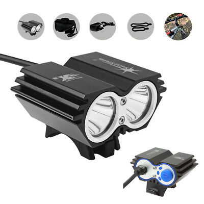 US Stock 10000LM Solar Storm CREE XM-L T6 LED Bicycle Light + Battery + Charger