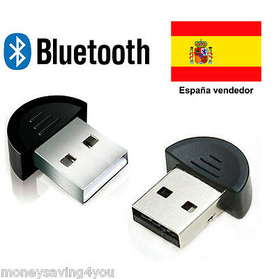 Mini USB Bluetooth V2.0  Dongle Wireless Adapter EDR for  PC Laptop Note
