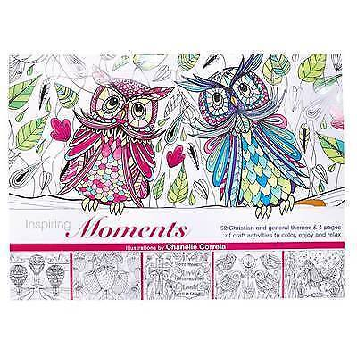 """Inspiring Moments"": Inspirational Adult Coloring Book by Christian Art Gifts"