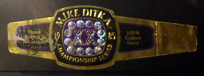 CIGAR BAND -  1985 MIKE DITKA - Championship Series - Used