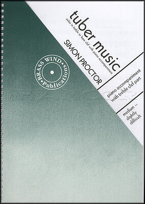 Tuber Music by Simon Proctor Treble Clef and Piano Sheet Music Book