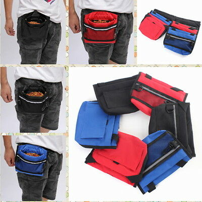 New Portable Outdoor Training Dog Bag Purse Food Snack Pets Package Pouch