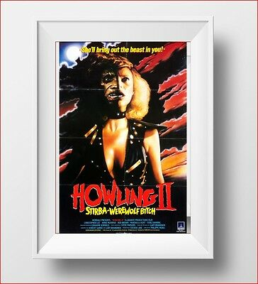 The Howling 2 Poster Retro Huge : #207938