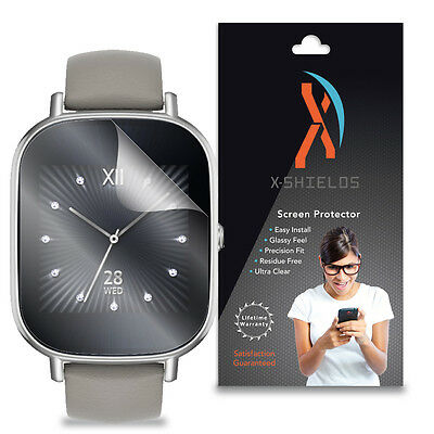 XShields (5-Pack) Clear HD Screen Protector Skin Cover For Asus ZenWatch 2 45mm