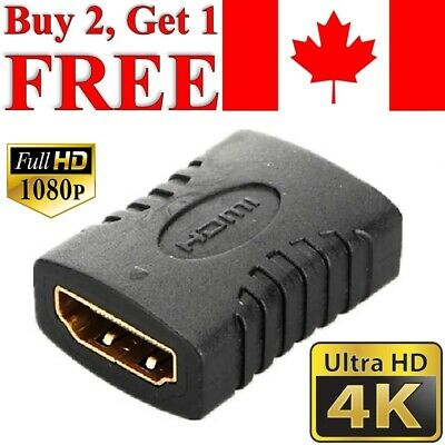 HDMI Female to HDMI Female Adapter Coupler Extender Connector for HDTV HDCP