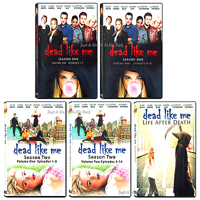 Dead Like Me: Complete Series Season 1&2 + Movie Life After Death Box/DVD Set(s)