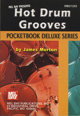 Pocketbook Deluxe Series Hot Drum Grooves Sheet Music Book