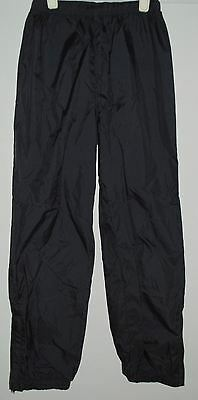 Columbia Wind Pants BLACK Kids Child Youth Sz 7/8 - Camping Hiking Sports
