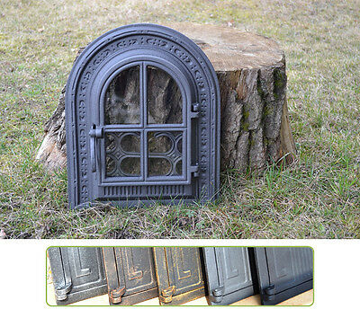 35x42,5cm Cast iron fire door clay / bread oven / pizza stove smoke house DZ020 • CAD $208.99