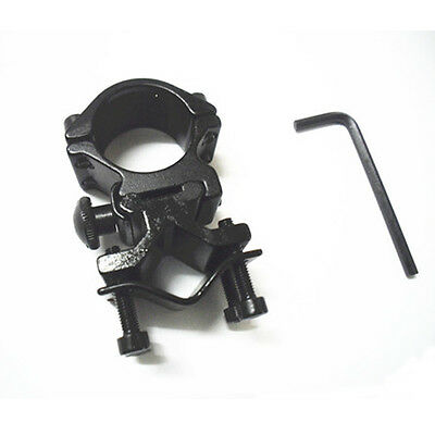 Universal Barrel Mount Adapter For Flashlight Torch Sight Scope New ZH