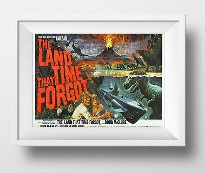 The Land That Time Forgot Poster Retro Huge : #208216