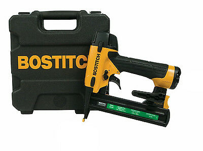 "BOSTITCH SX1838K 18GA 1/2"" to 1-1/2"" Narrow Crown Finish Stapler Staple Gun Kit"