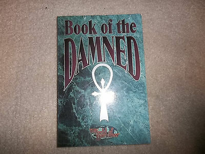 Vampire the Masquerade Mind's Eye Theatre MET Book of the Damned