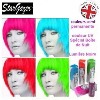 Coloration cheveux semi permanente fluorescent UV - Stargazer