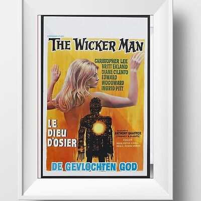The Wicker Man Poster Retro Huge : #209987