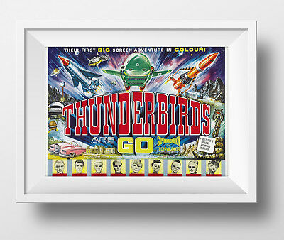 Thunderbirds Are Go Poster Retro Huge : #209704