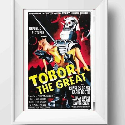 Tobor The Great Poster Retro Huge : #209720