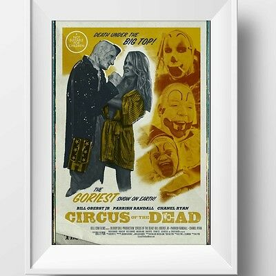 Circus Of The Dead Poster Retro Huge : #210142