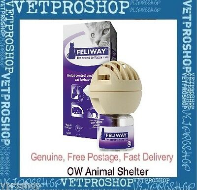 Feliway Diffuser Set with 48mL Bottle - Pheremone for Cat Anxiety
