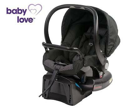 Br New Baby Love Snap n Go Infant Capsule Baby Kid Children Car Carrier Black