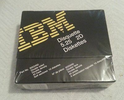 IBM 6023450 5.25 2D Diskettes - Box of 10