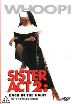Sister Act 2 Back In The Habit - Whoopi Goldberg DVD R4 New!