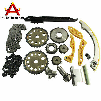 Engine Timing Chain Kit w/ Balance Shaft Set L61 For 2000-11 GM 2.0L 2.2L 2.4L