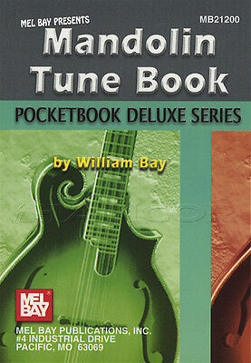 Pocketbook Deluxe Series Mandolin Tune Book TAB & Notation by William Bay