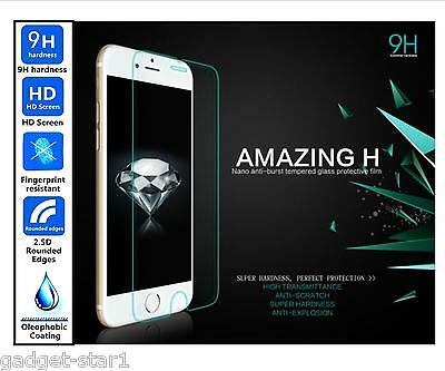 Genuine 100% TEMPERED GLASS Invisible Screen Protector For APPLE IPHONE SE 2016