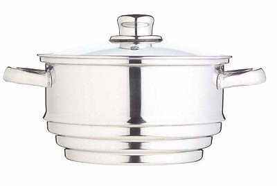 New Clearview Stainless Steel Universal Steamer Insert - Fits Most Pans KCCVUNI