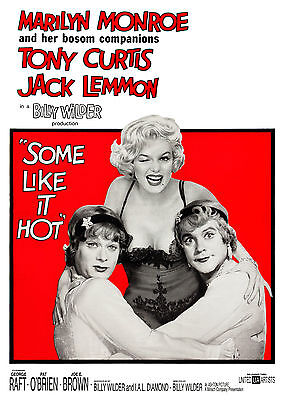 Some Like It Hot (1959) - A1/A2 POSTER **BUY ANY 2 AND GET 1 FREE OFFER**