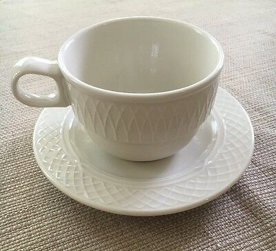 Homer Laughlin China Made In USA Gothic Cup And Saucer