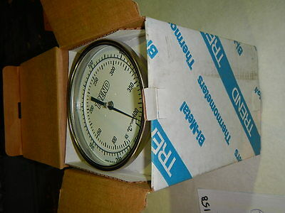 "Trend Instruments Thermometer Bi-Metal 50 1/2""NPT 150-750Deg 6"" Stem OR 9"" Stem!"