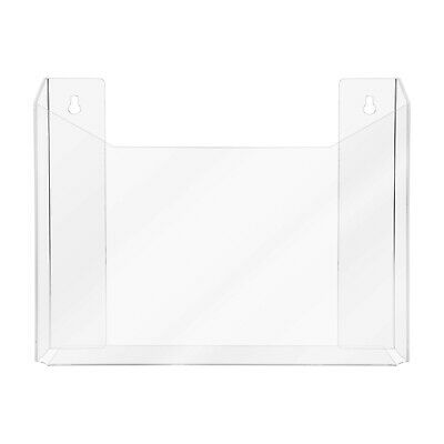 Clear Acrylic Wall Mount Newspaper Display Rack