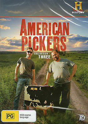 AMERICAN PICKERS Collection Three DVD Set *New/Sealed* 3