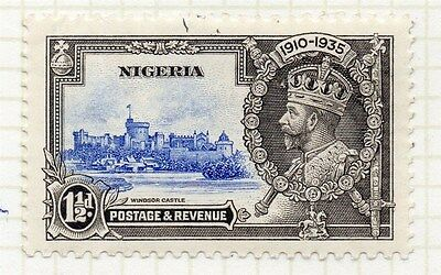 Nigeria 1935 Silver Jubilee Early Issue Fine Mint Hinged 1.5d. 051148
