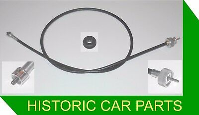 "48"" SPEEDO CABLE & GROMMET for MGBGT & MGB Roadster RHD STANDARD 1963-67"