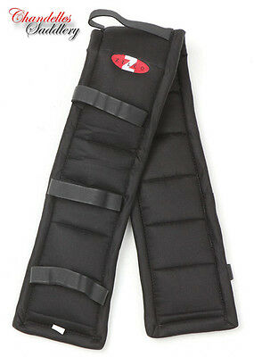 ZILCO DRIVA PUFFER PAD BLACK Carriage Driving Harness Saddle Pads Liner