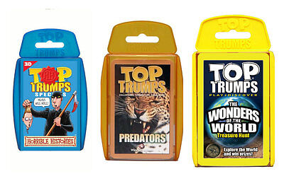 Top Trumps Card Game-Choose Your Favourite Trump Latest Designs