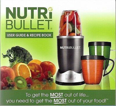 Nutribullet Recipe Book: Smoothie Recipes for Weight-Loss, Detox, Anti-Aging NEW